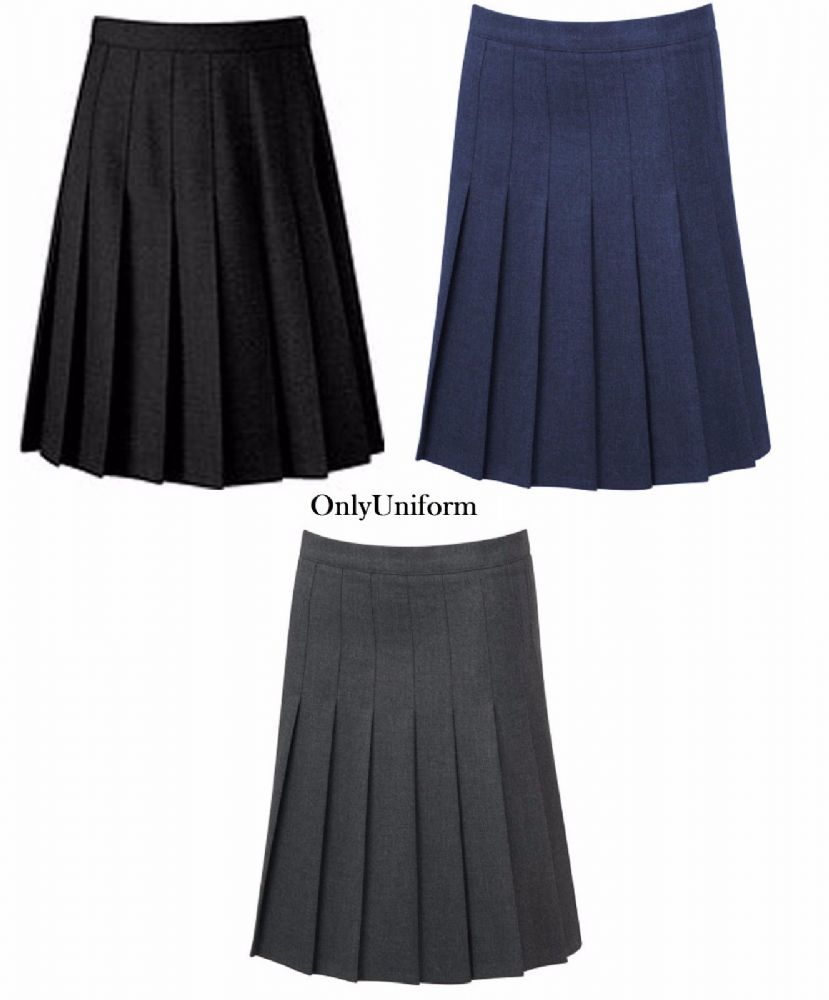 4bd232d3ef Grey Pleated School Skirts | Saddha